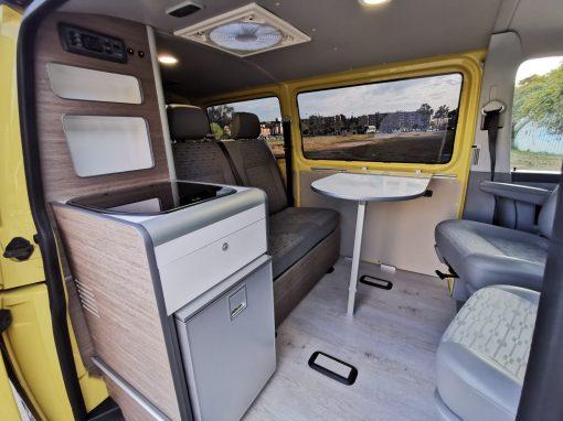 VW Transporter t5 Yellow