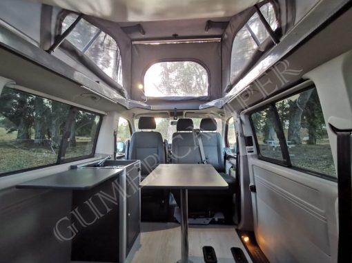 VW Caravelle T6 Techo elevable